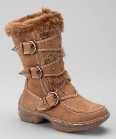 Take a look at this Camel Jessica Buckle Boot by Lucky Top on #zulily today! 15/10/13 $20.72 http://www.zulily.com/invite/you$