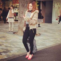 #laforet #winter2013 #harajukufashion #trendspotted by www.fashioninjapan.com