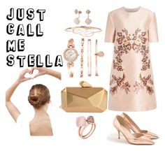 """Just call me..."" by amrinjo ❤ liked on Polyvore featuring STELLA McCARTNEY, J.Crew, Armitage Avenue, Anne Klein, Anita Ko, Michael Kors, ASOS, cute, chic and clear"