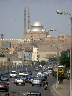 Muhammed Ali Mosque in the Citadel. Cairo, EGYPT
