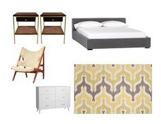 Online Interior Design HQ: Decorate Your Room By Choosing A Rug First. #Rugs #Mood Board