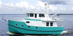 Great Harbor's GH 37 is the most spacious live-aboard vessel in it's class Trawler Yacht, Trawler Boats, Catamaran For Sale, Yacht For Sale, Wooden Boat Plans, Wooden Boats, Spirit Yachts, Cabin Cruiser Boat, Yatch Boat