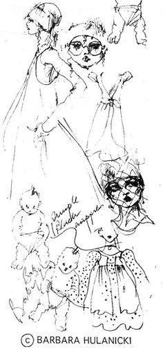 Illustration by Barbara Hulanicki. IN BIBA