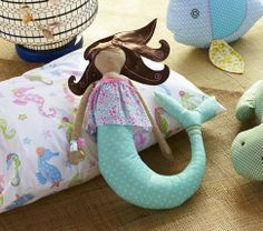 Mermaid Plush | Pottery Barn Kids