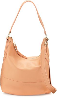 See by Chloe Janice Leather Hobo Bag, Sweet Peach  ON SALE: Was $406.00 Reduced to: $304.50  25% OFF