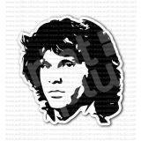 Jim Morrison Rock Musician Singer Sticker