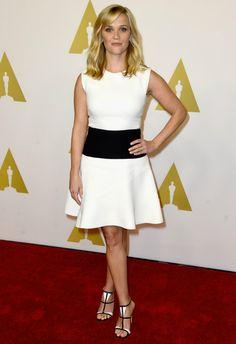 2/2 #リース・ウィザースプーン Oscars Nominee Luncheon 2015 |海外セレブ最新画像・私服ファッション・着用ブランドチェック DailyCelebrityDiary*