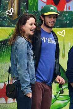 Leighton Meester & Adam Brody Keep Each Other Close On The Sunny Streets Of New York City!