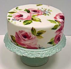 EAT MORE CAKE: Back to Basics - Pintar sobre pasta de açúcar!