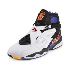 new concept a6d98 1889c Nike Air Jordan Mens 8 Retro Basketball Shoe -- Visit the image link more  details