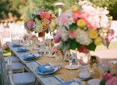 Un mariage fleuri