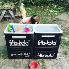 Make a mud kitchen for children yourself – with IKEA in just 5 minutes - Health insurance Ikea Hack Kids, Ikea Hacks, Fritz Kola, Mud Kitchen, Ikea Kitchen, Willow Branches, Self Watering Planter, Health Care Reform, Cool Plants