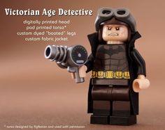 Batman Victorian Detective Custom Minifigure