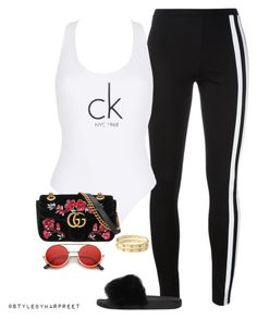 """Chilled out!"" by stylebyharpreet on Polyvore featuring Y-3, Calvin Klein, Givenchy, Gucci and Cartier"