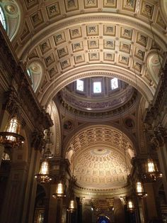 The Cathedral Basilica of Saints Peter and Paul.