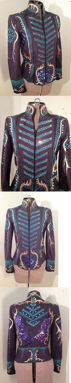 Western Show Shirts 183370: Navy Showmanship Western Pleasure Trail Jacket -> BUY IT NOW ONLY: $849.0 on eBay!