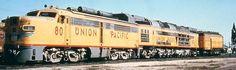 Diesel Streamliner - American Dreams on Wheels - und G Electric Locomotive, Diesel Locomotive, Steam Locomotive, Pacific Union, Union Pacific Railroad, Ho Trains, Model Trains, Gas Turbine, Railroad Photography