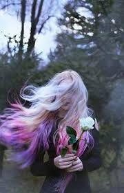 Super Ideas For Hair Black Purple Pastel Goth Pastel Hair, Purple Hair, Ombre Hair, Pink Purple, Pastel Blonde, Blonde Hair, Pastel Makeup, White Makeup, Emo Hair