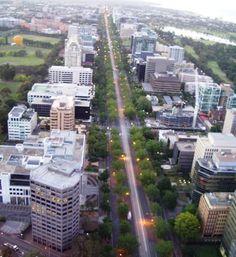 St Kilda Rd. Melbourne