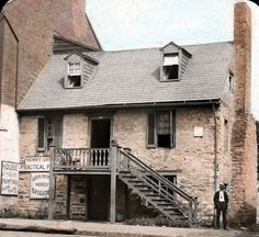 The Old Stone House in Georgetown, DC, is thought to be the oldest standing structure in DC.
