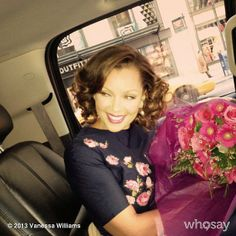 Vanessa rocked a faux bob and a pretty floral-print dress during a day of press in NYC. Source: Vanessa Williams on WhoSay, March 2013 Chris Williams, Vanessa Williams, Miss America Winners, Faux Bob, Ugly Betty, Toni Garrn, Got The Look, Life Is Good, Floral Prints