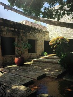 Clásicos de Arquitectura: Casa presidencial del Fuerte San Juan de Manzanillo,© Ricardo L. Castro Earthship, Exterior Design, Interior And Exterior, Outdoor Spaces, Design Elements, Interior Architecture, Countryside, Patio, Landscape