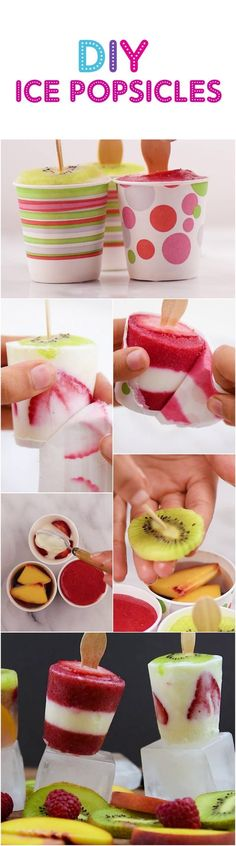 Healthy Delicious Ice Pops to make this summer!