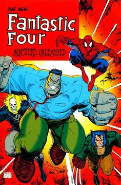 The New Fantastic Four: Monsters Unleashed (Marvel, 1961) TPB [collects Fantastic Four #347-#349]