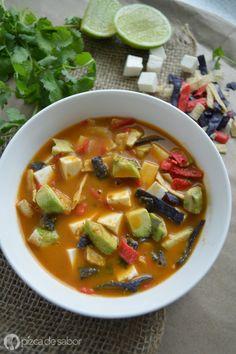 Healthy Recipes, Raw Food Recipes, Soup Recipes, Cooking Recipes, Recipies, Best Mexican Recipes, Favorite Recipes, Deli Food, Mexico Food