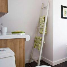 Towel ladder rack..