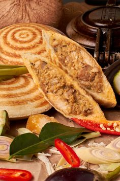 Full Moon Jaffle is a Thai Chicken and Vegetable Curry in a Toasted Pocket. Made with All Natural Ingredients, Healthy and No Junk! Grill Recipes, Real Food Recipes, Snack Recipes, Snacks, South African Recipes, Ethnic Recipes, Pie Irons, Turnover Recipes, Corner Cafe