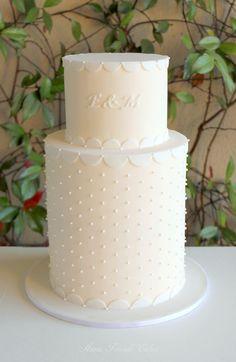 'Elle' - white & ivory double barrel wedding cake Wedding Desserts, Wedding Cakes, Double Barrel Cake, Cake Push Pops, Let Them Eat Cake, Beautiful Cakes, Pillar Candles, Bakery, Birthday