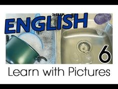 English Kitchen Vocabulary:  Video (See, hear and say the words with their pictures.  US-English pronunciation)