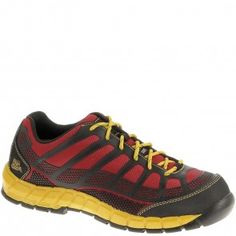 b7d04e0d5e912 90287 Caterpillar Men s Streamline Safety Shoes - Black Red www.bootbay.com