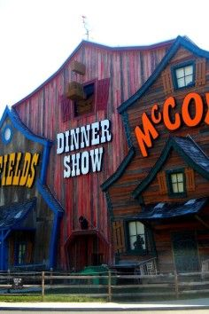 Hatfield & McCoy Dinner Show. Pigeon Forge, TN