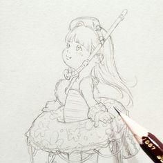 Hermione Fan Art, Children Sketch, Art Drawings Sketches Simple, Step By Step Drawing, Character Design, Doodles, Manga, Illustration, Anime Girls