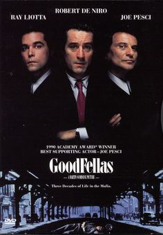 The lives of gangsters telling the misguided loyalties and greed.  Breathtaking pics, witty script writing and realistic violence. One of Robert De Niro's best performances.