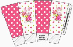 Easter in Pink: Free Printable Boxes.