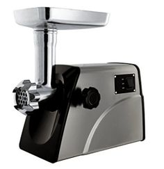 Sunmile Electric Meat Grinder - Max Power - ETL Stainless Steel Meat Grinder Mincer Sausage Stuffer - Stainless Steel Blade and Plates, 1 Sausage Maker Meat Trays, Best Juicer, Thing 1, Best Meat, Specialty Appliances, Kitchen Gadgets, Kitchen Appliances, Cool Kitchens, Real Food Recipes