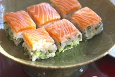 "NHK WORLD TV | Your Japanese Kitchen | Salmon <span style=""font-style: italic;"">Battera</span> Pressed Sushi"