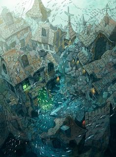 theartofanimation: Demizu Posuka | RGB-Love.net | Life & Inspiration