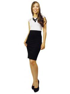 Tiffany Bean Perfect Pencil Skirt