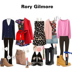 Rory Gilmore by teakettel on Polyvore featuring polyvore, fashion, style, Milly, Uniqlo, Equipment, Calvin Klein, River Island, Vince, Marc by Marc Jacobs, Sole Society, Yves Saint Laurent, Frye, Timberland, HOWSTY, Nouv-Elle, Cobra & Bellamy, Bling Jewelry, Karapetyan, Full Tilt, Glam Bands, Kate Spade, Paul & Joe and Easy Spirit