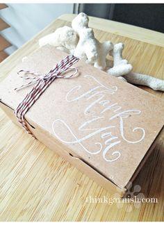 Wedding Welcome Gift Box by Garnish, Inc. @holleeallen