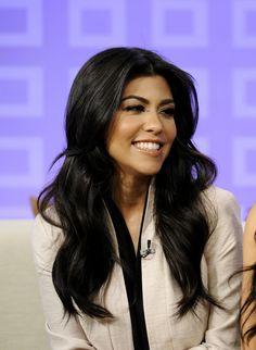 Kourtney Kardashian Hair & Makeup