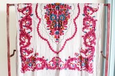 Floral Printed Tablecloth