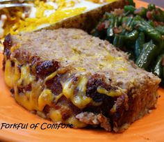 Forkful of Comfort: Cheesy Turkey Meatloaf - for the meatloaf hater- now maybe I will even make this!!