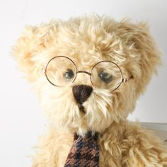 Vintage Bukowski Matheus Bear Sweden 1990 by StarfishCollectibles, $25.00