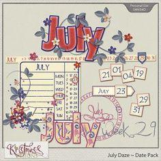 July Daze Date Pack