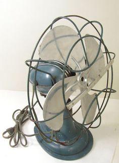 Antique Westinghouse Oscillating Fan All Original Works